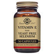 Solgar Vitamin E with Yeast Free Selenium - 50 Vegicaps