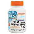 Best trans-Resveratrol 100 - 60 x 100mg Vegicaps