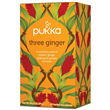 Pukka Teas Organic Three Ginger - 20 Teabags x 4 Pack