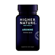 Higher Nature Arginine Amino Acid - 120 Capsules - Best before date is 31st May 2021