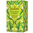 Pukka Teas Organic Lemongrass & Ginger Tea - 20 x 4 Pack