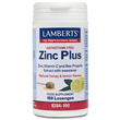 LAMBERTS Zinc Plus Lozenges Lemon & Honey -100 Lozenges