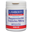 LAMBERTS Peppermint Oil - 90 x 100mg Capsules