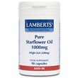 LAMBERTS Pure Starflower Oil - 90 x 1000mg Capsules