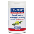 LAMBERTS Pure Evening Primrose Oil-180 x 500mg Capsules