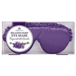 Aroma Home Luxurious Eye Mask - Lavender Seeds - Purple