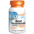 Best Tocotrienols - Vitamin E - 60 x 50mg Softgels