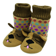 Aroma Home Knitted Fun for Feet - Slipper Booties - Dog