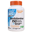 Best Benfotiamine 150+ Alpha-Lipoic Acid - 60 Vegicaps