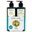 A kin Hair Care Duo - Shampoo & Conditioner - 2 x 500ml