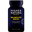 Higher Nature Balance for Nerves - B Vits & Magnesium - 30 Vegicaps
