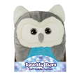 Aroma Home Sparkly Eyes Soft Cuddle Cushion - Owl