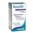 HealthAid Resolife - Resveratrol - 60 x 250mg Vegicaps