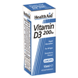HealthAid Vitamin D3 200iu - Strawberry Flavour - 15ml