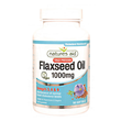 Natures Aid Cold Pressed Flaxseed Oil - 90 Capsules