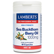 LAMBERTS Sea Buckthorn Berry Oil - 60 x 1000mg Capsules