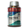Omega 3 Fish Oil - 100% Extra FREE - 45+45 x 1000mg Caps