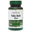 Natures Aid Folic Acid  - 90 x 400mcg Tablets