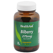 HealthAid Bilberry 275mg Equivalent - 30 Vegan Tablets