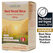 Natures Aid Red Yeast Rice 600mg - 90 Vegicaps