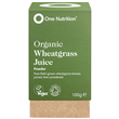 One Nutrition Organic Wheatgrass Juice Powder - 100g