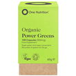 One Nutrition Organic Power Greens - 100 Capsules