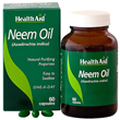 HealthAid Neem Oil - Purifying Properties - 60 Capsules
