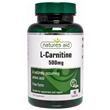 Natures Aid L-Carnitine 500mg - 90 Capsules