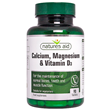 Natures Aid Calcium, Magnesium & Vitamin D3 -90 Tablets