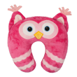 Aroma Home Neck Pillow - Pink Owl