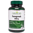 Natures Aid Fenugreek - 90 x 500mg Capsules