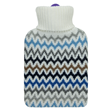 Aroma Home Fragranced Hot Water Bottle - Chevron (Lavender & Rosemary)