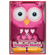 Aroma Home Knitted Pink Owl Hottie