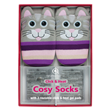 Aroma Home Knitted Cat Socks