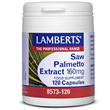 LAMBERTS Saw Palmetto Extract - 120 x 160mg Capsules