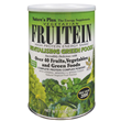 Natures Plus Fruitein Revitalising Green Foods - 576g