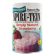 Natures Plus Spirutein Simply Natural Strawberry-370g