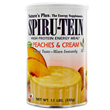 Nature`s Plus Spirutein Peaches and Cream - 510g - Best before date is 28th February 2018