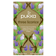 Pukka Teas Organic Three Licorice - 20 Teabags x 4 Pack