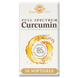 Solgar Full Spectrum Curcumin 185x -30 x 800mg Softgels