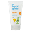 Green People Organic Children Scent Free Sun Lotion - SPF 30 - 150ml