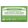 Dr Bronner`s Green Tea Soap Bar - 140g