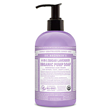 Dr Bronner`s Organic 4-in-1 Lavender Sugar Soap - 355ml