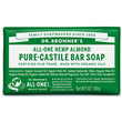 Dr Bronner`s Almond Castile Bar Soap - 140g
