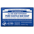 Dr Bronner`s Peppermint Castile Soap Bar 140g