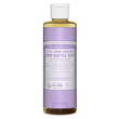 Dr Bronner`s 18-in-1 Organic Lavender Castile Liquid Soap 237ml