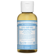 Dr Bronner`s 18-in-1 Baby-Mild Unscented Castile Liquid Soap 60ml