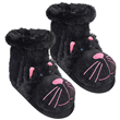 Aroma Home Fun for Feet - Slipper Socks - Black Cat