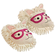 Aroma Home Fun for Feet -Fuzzy Slippers- Cat in Glasses