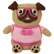 Aroma Home Knitted Cosy Friends Pug Hottie